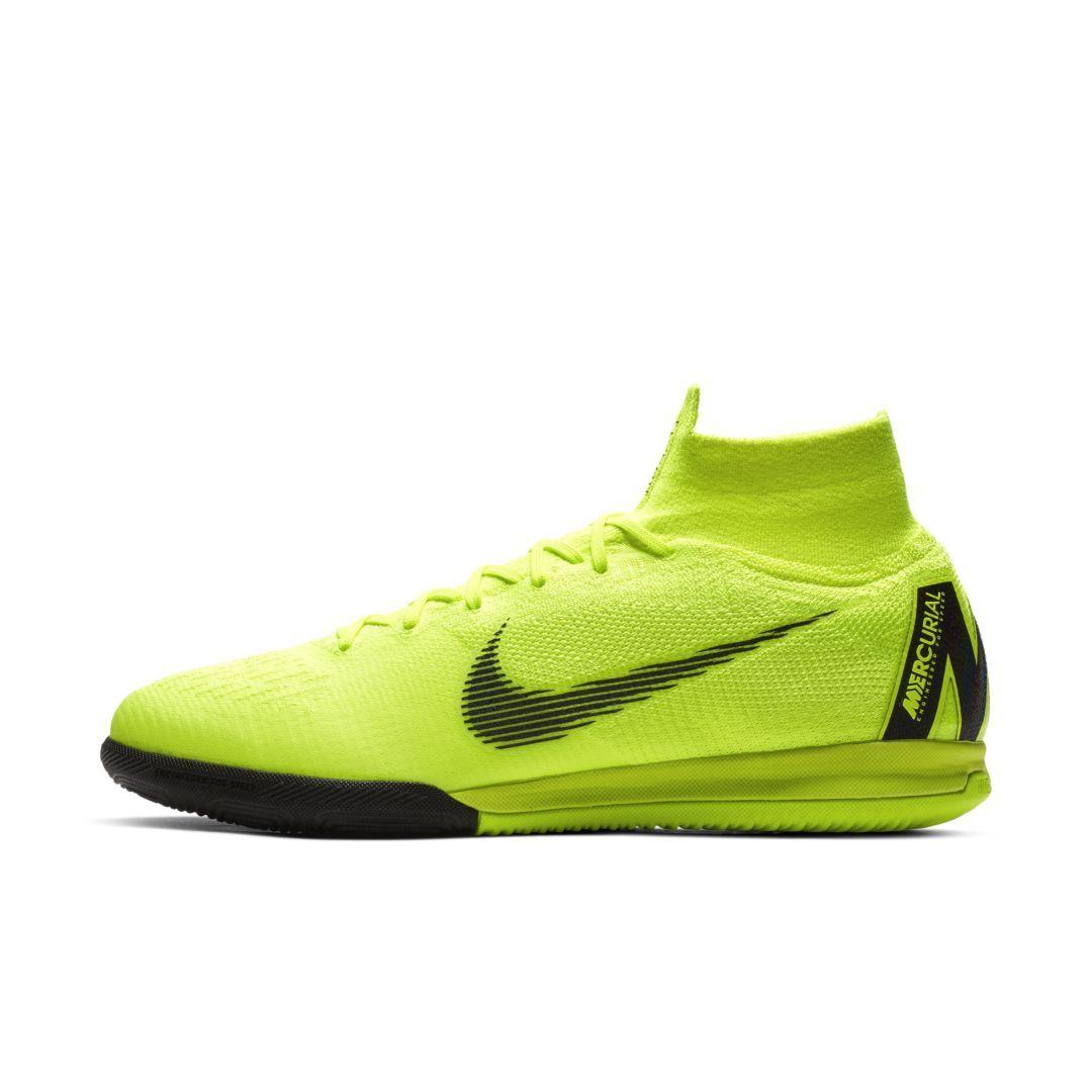 0eca1d338310 Nike MercurialX Superfly 360 Elite Indoor/Court Soccer Shoe Size 12.5 (Volt)