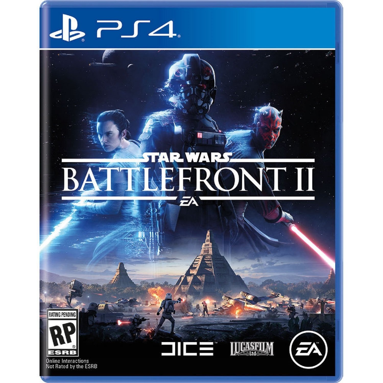 Electronic Arts Star Wars Battlefront Ii Ps4 Multicolor Sony Star Wars Battlefront Battlefront Battlefront 2 Ps4