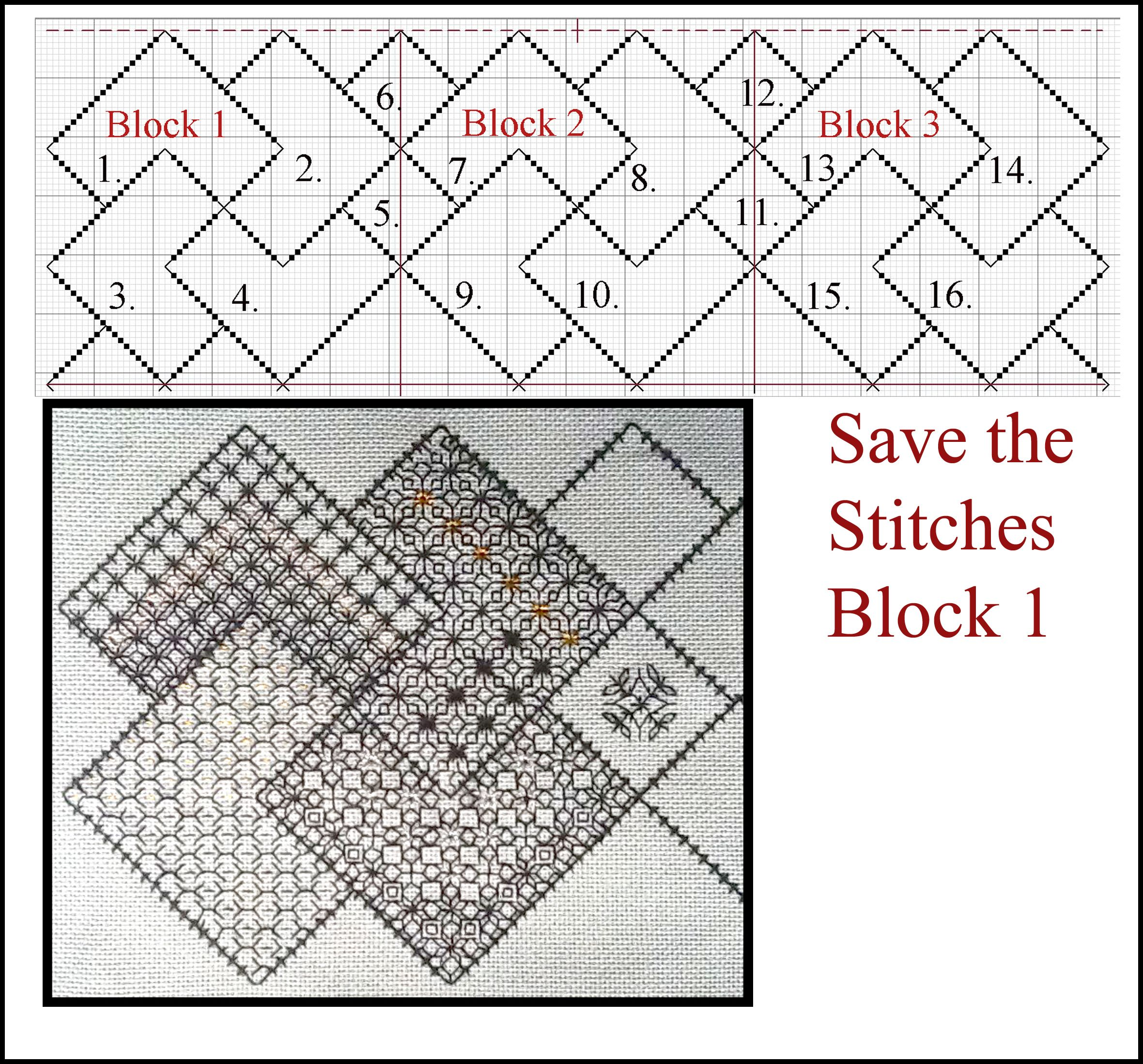 Save the stitches free blackwork project the framework for the save the stitches free blackwork project the framework for the first 3 blocks www bankloansurffo Gallery