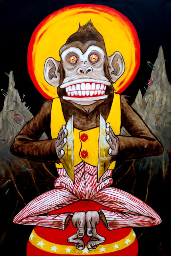 Jolly Chimp Diseno De Personajes Ilustraciones Dibujos