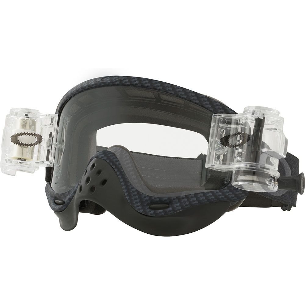 198510540e Oakley O Frame Race-Ready True Carbon Roll-off Goggles