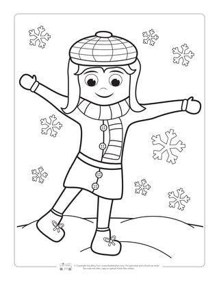 Winter Coloring Pages | Coloring pages winter, Coloring ...
