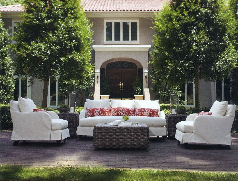 How To Transform Your Porch Or Patio From Ordinary To Extraordinary Freshome Com Modern Outdoor Furniture White Patio Furniture Terrace Furniture