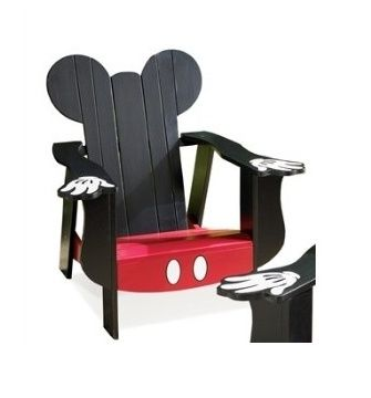 Mickey Mouse Lawn Chair Disney Home Decor Disney Furniture