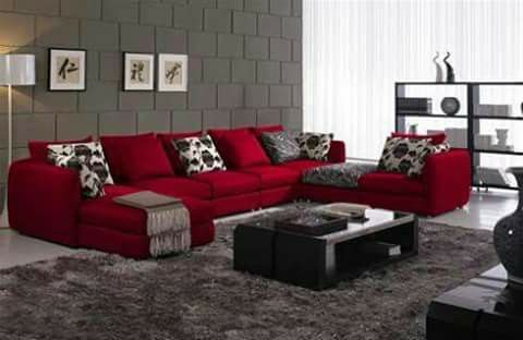 Pin By Tania On Salas Red Sofa Living Room Living Room Red Red