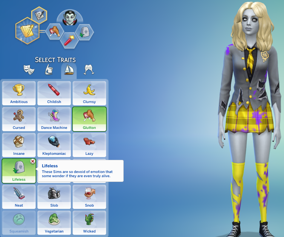 Halloween 2020 Sims TS4 – Halloween Trait Pack in 2020 | Sims 4 traits, The sims 4