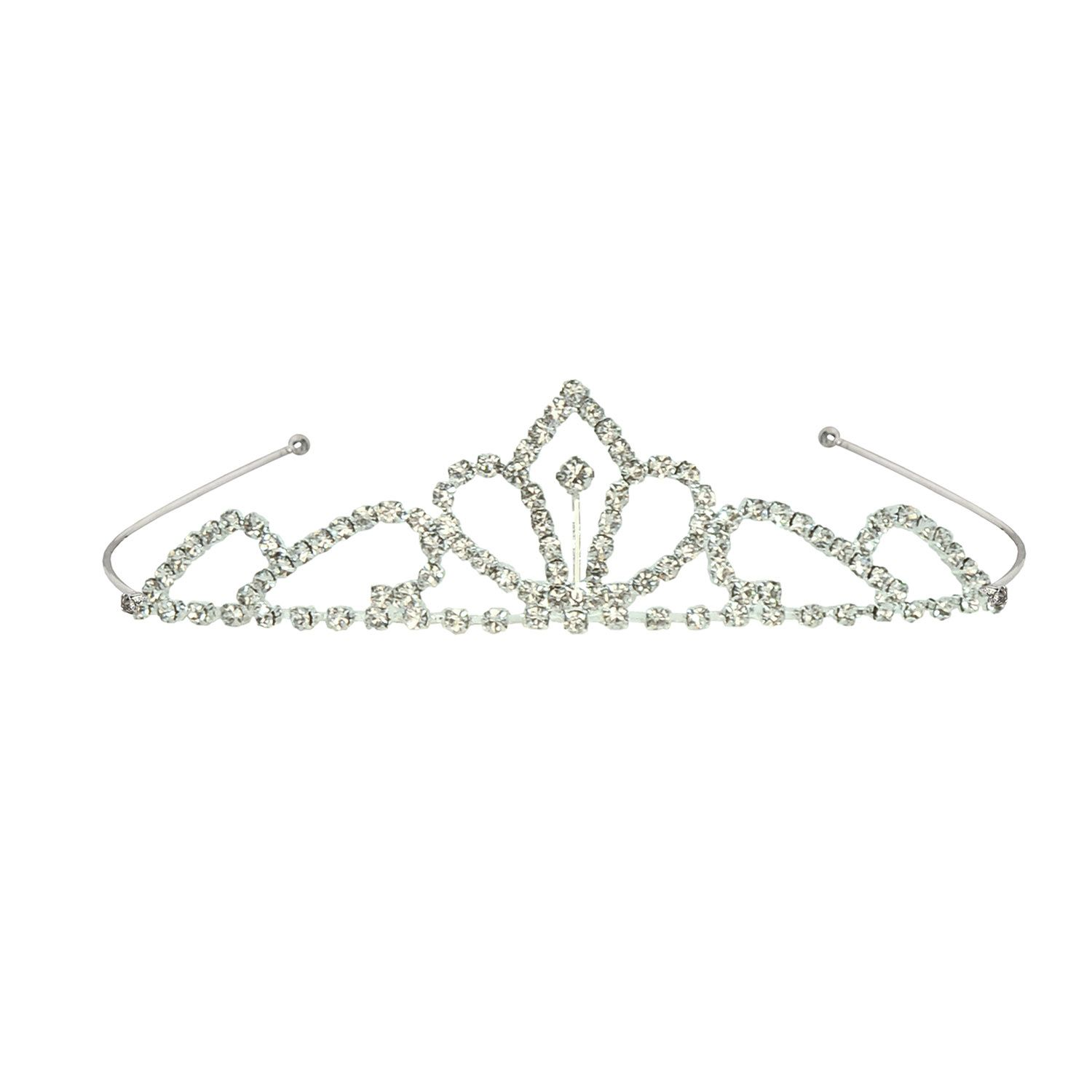 24-Pack Fun Festive Headband Holiday Party Supplies 3 Assorted Metallic Colors Gold New Year Party Tiaras and Black Happy New Year Glitter Design Silver One Size Fits All