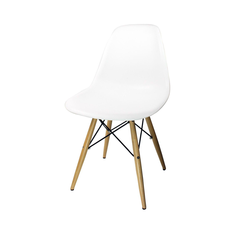 chaise design plastique blanc ante - Chaise Design Plastique
