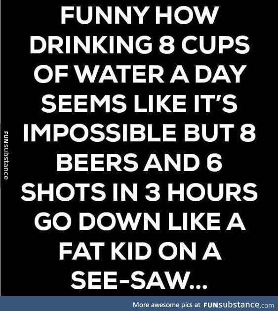 Chugging helps though - FunSubstance