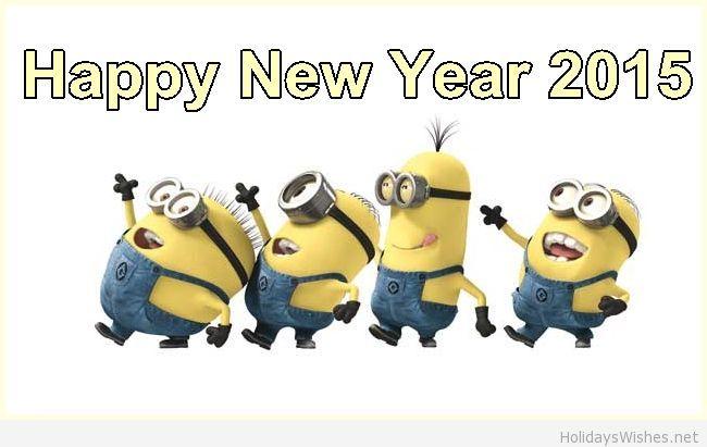 minions happy new year