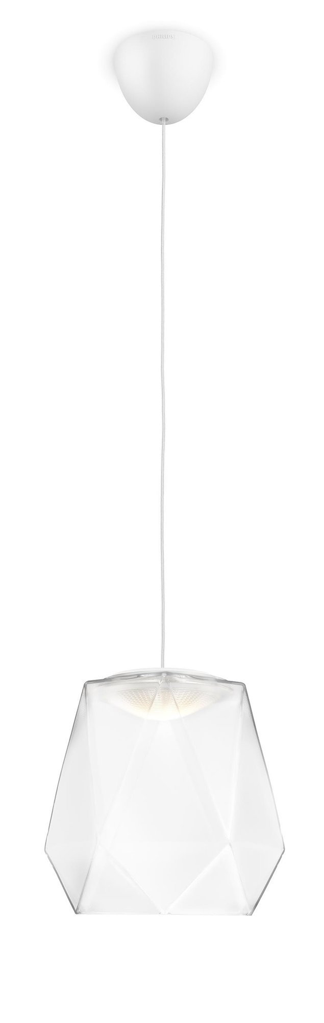 Philips Suspension LED Italo blanche LED intégrée 4 5W 40W