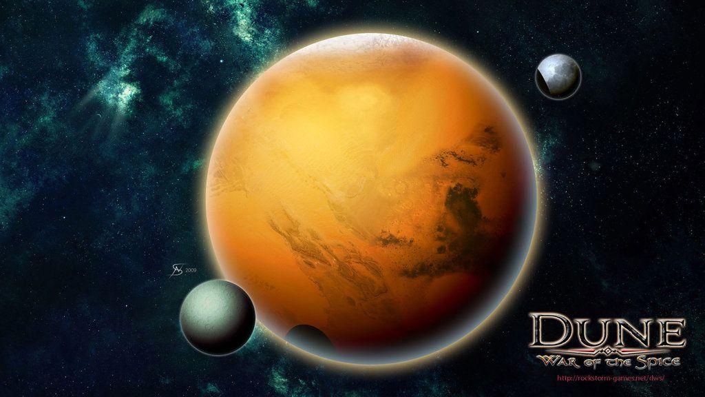 Planet Arrakis by gntlemanartist on DeviantArt