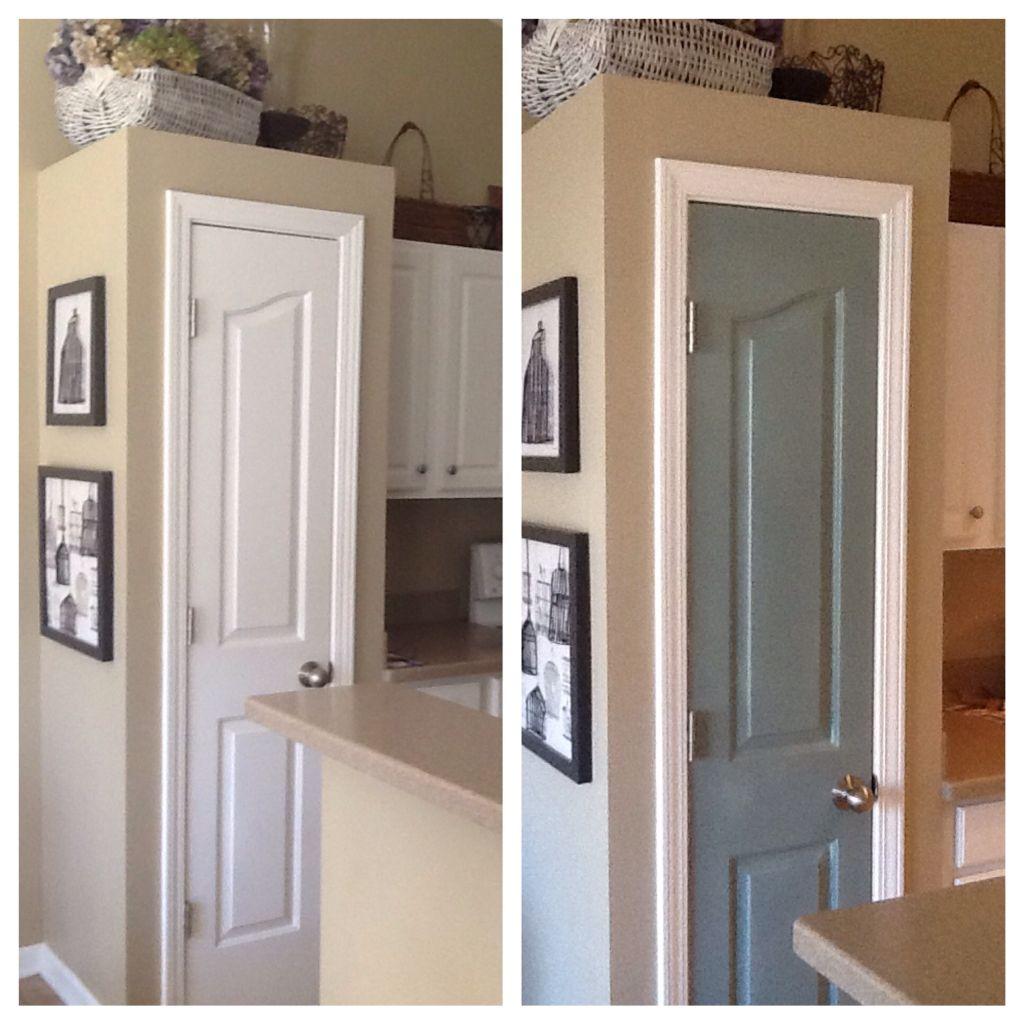 Pantry Door W Annie Sloan Chalk Paint