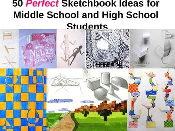 Sketchbook Ideas For High School