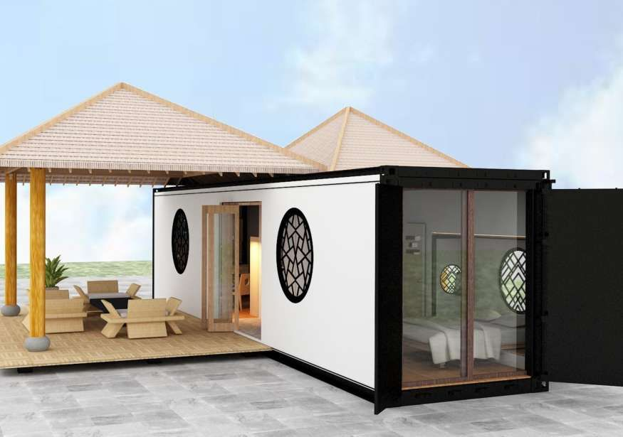 Container homes, coffee shops, stores, bars and warehouse projects ...