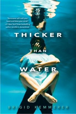 Thicker Than Water by Brigid Kemmerer Book Review