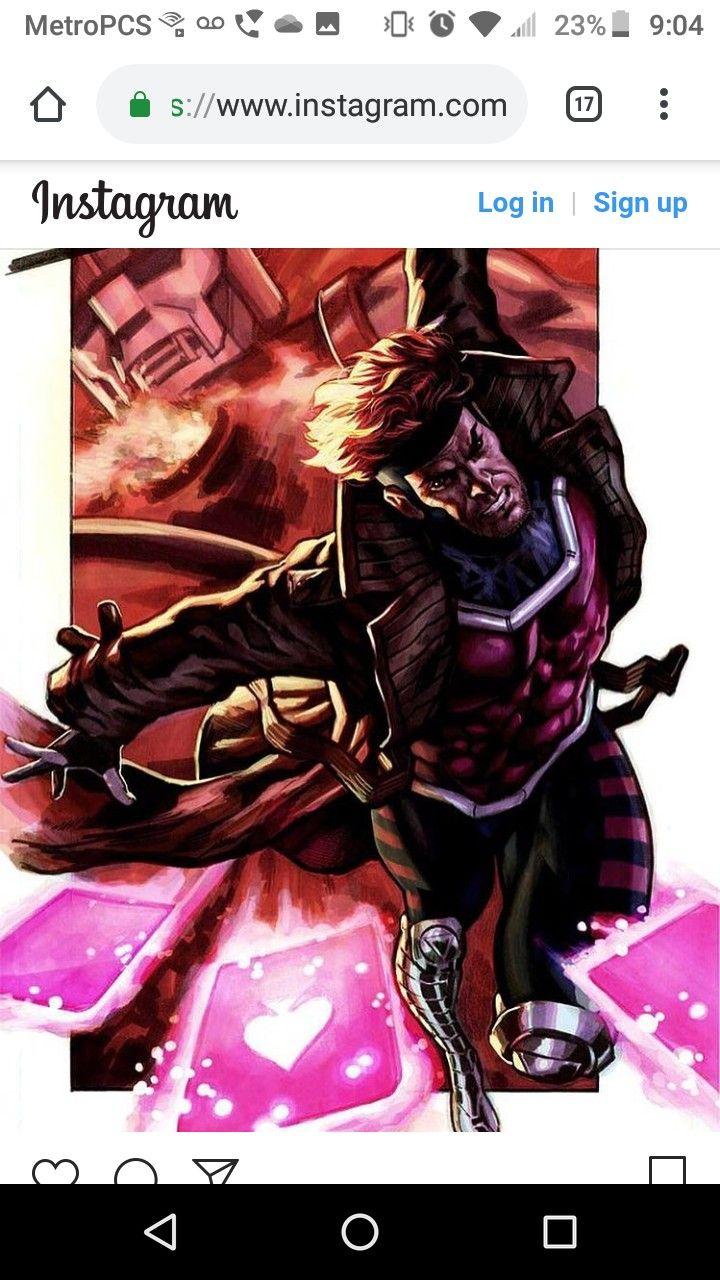 Pin by adrino hamlin on heroes comic books gambit