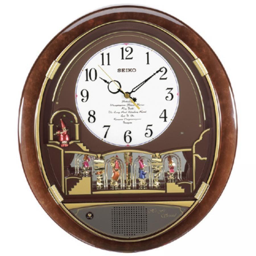 Www Watchabove Com Seiko Daniel Clown Melodies In Motion Wall Clock Quartz Musical Band Clock Clock Wall Clock Musical Band