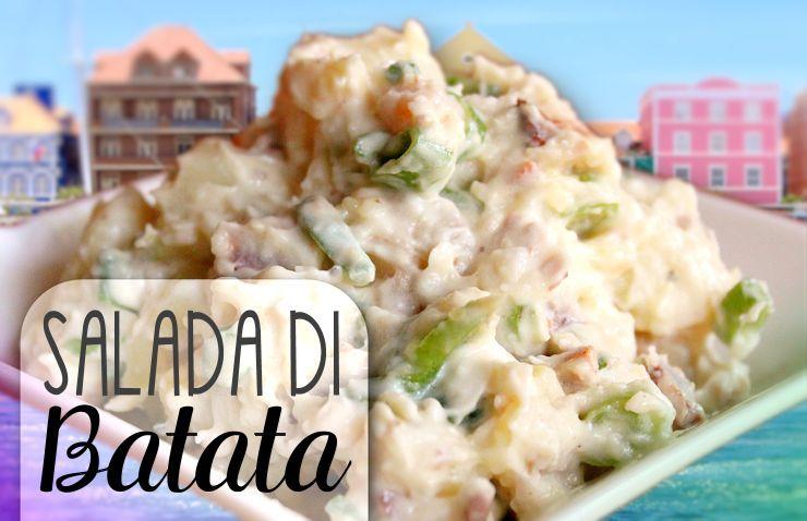 Speciaal Antilliaanse Keuken : Antilliaanse aardappelsalade salada di batata recept uit