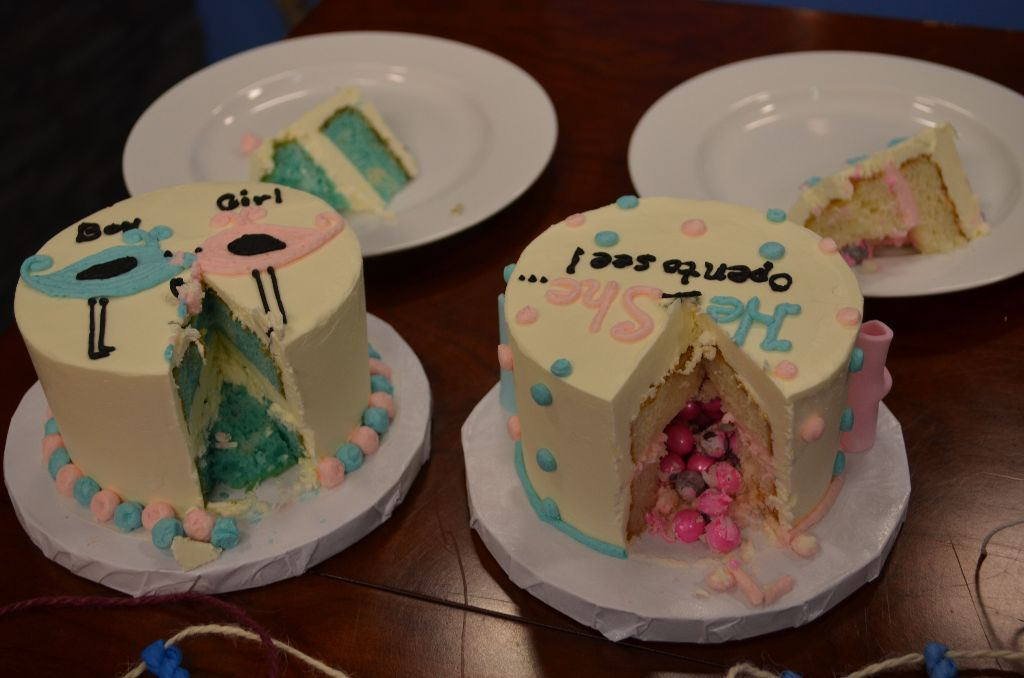 Gender Reveal Cakes Gender Reveal Cake Twin Gender Reveal Baby Shower Gender Reveal