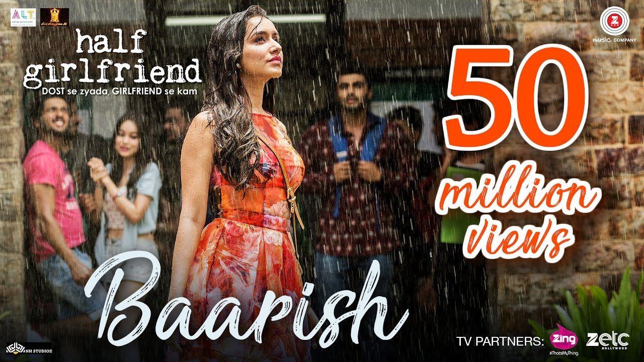 Baarish Half Girlfriend Arjun K & Shraddha K Ash