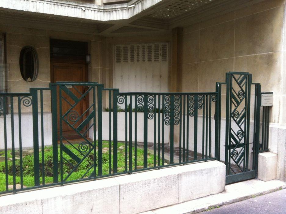 Grille En Fer Forg Art D Co 3 Grille De Cl Ture En Fer Forg Fer Forge Decoration Jardin Art Deco