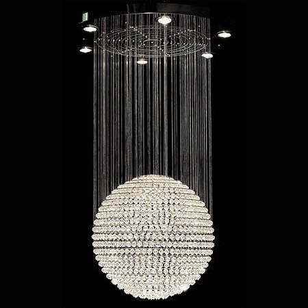 Chandeliers ball chandelier swarovski crystal ball chandelier by chandeliers ball chandelier swarovski crystal ball chandelier by tom dixon aloadofball Images