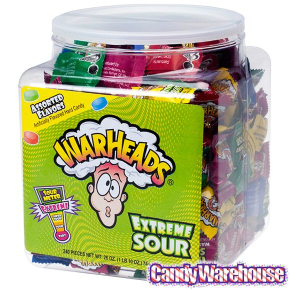 Just found WarHeads Extreme Sour Hard Candy Packs: 240-Piece Tub @CandyWarehouse, Thanks for the #CandyAssist!