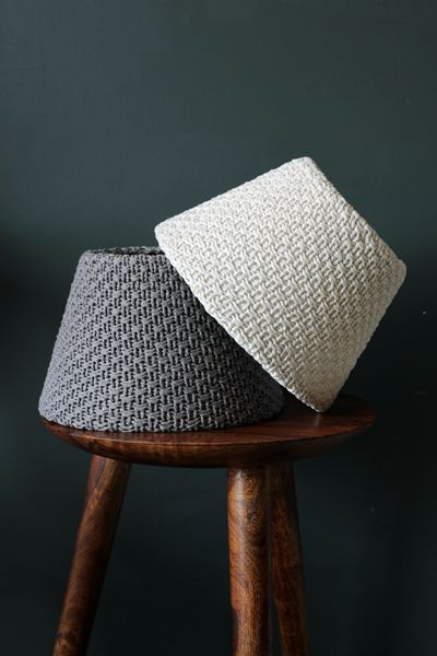Wonderful Knitted Lampshade