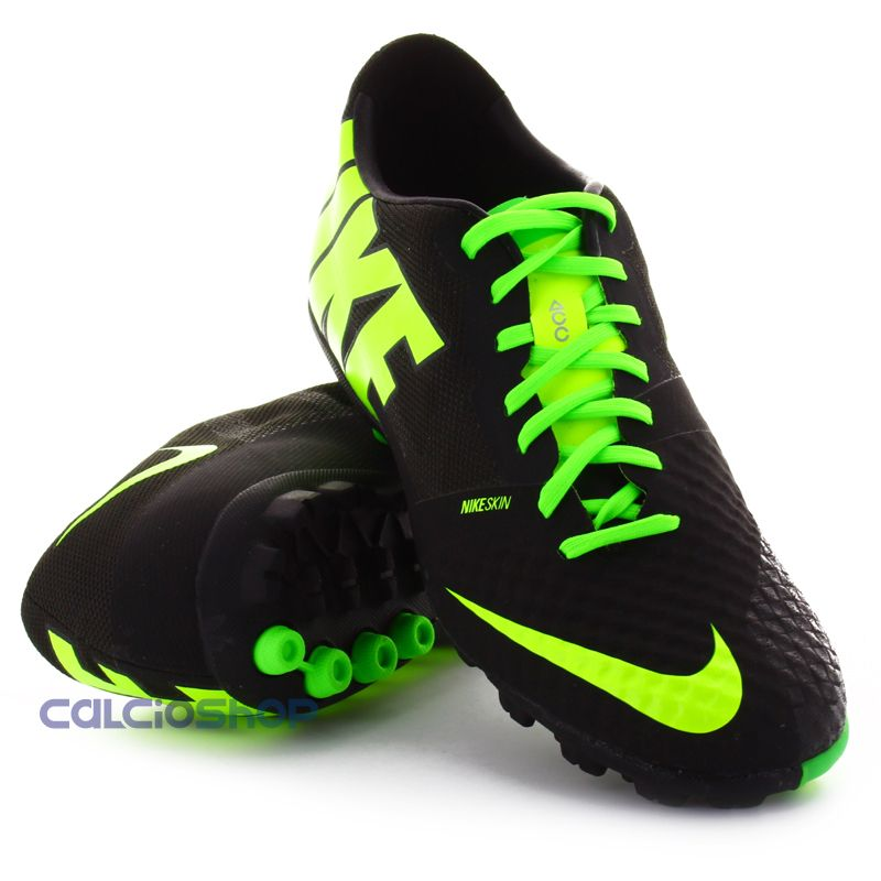 7afb0949b Nike - Bomba Finale II Black   Volt-Electric
