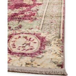 Photo of benuta Trends Teppich mit Print Siljan Beige/Pink 130×190 cm – Vintage Teppich im Used-Lookbenuta.de