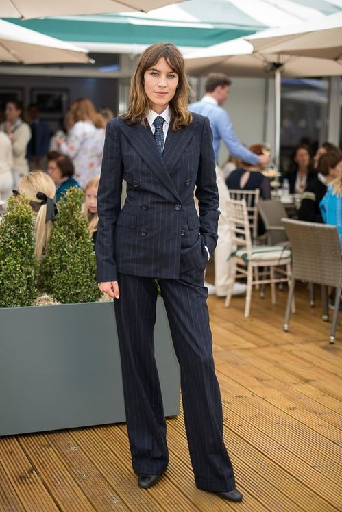 pantalons femme tailleur style ralph lauren