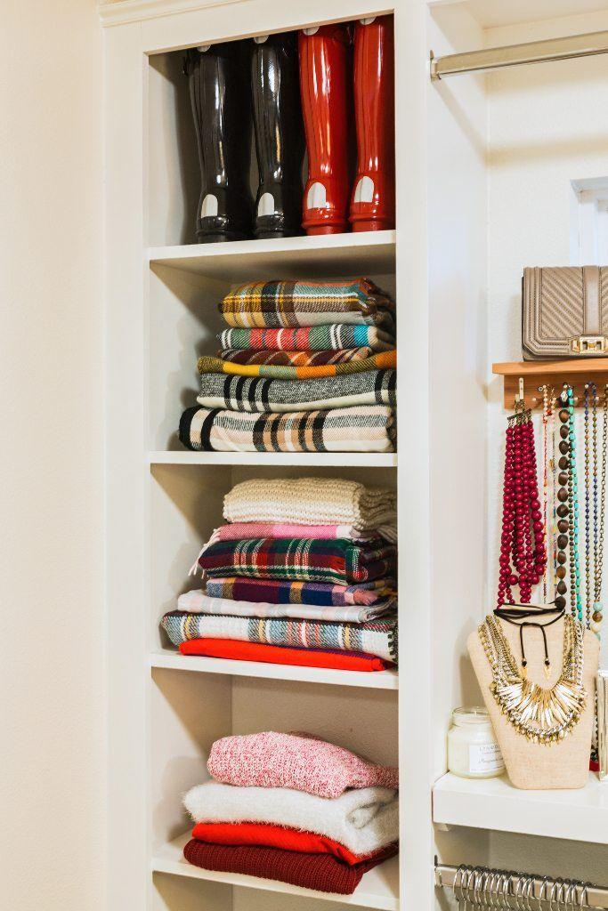 How To Organize Your Closet | Organizing, Organizations And Closet  Organization