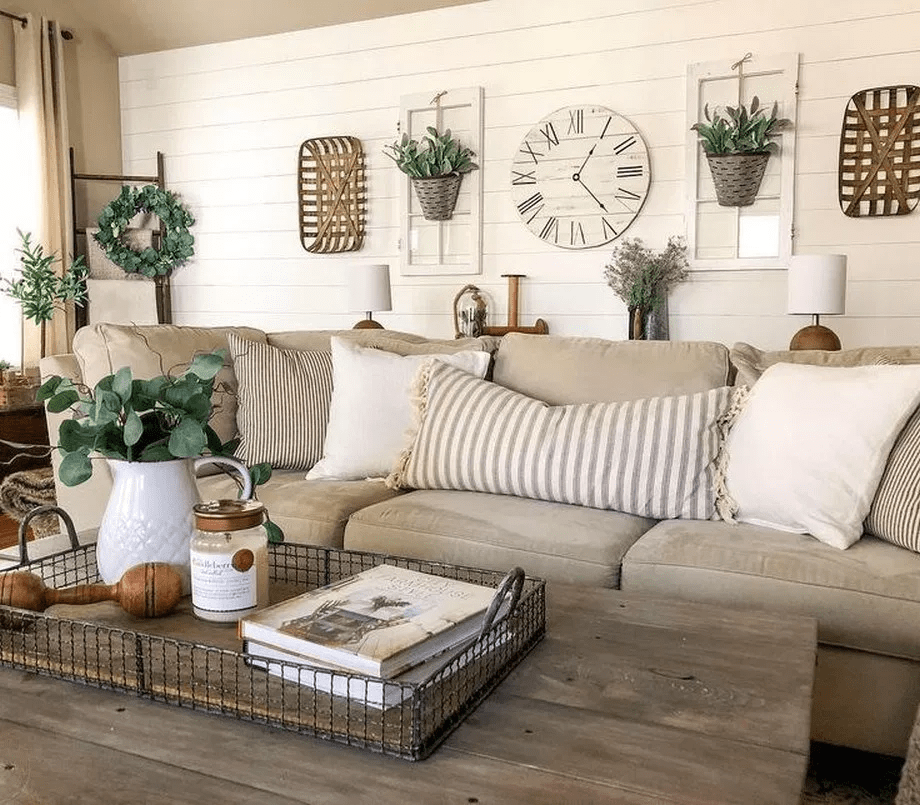 25 Gorgoeus Shabby Chic Farmhouse Living Room Decor Ideas From Front Door To Porch To Yard In 2020 Farm House Living Room Farmhouse Decor Living Room Chic Living Room