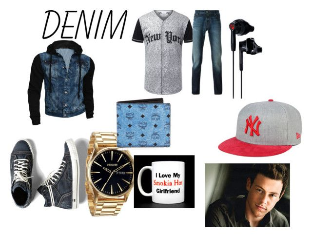 """""""denim idc"""" by kykypear on Polyvore featuring G-Star Raw, Jacob Cohёn, Nixon, MCM, Under Armour, New Era, women's clothing, women, female and woman"""