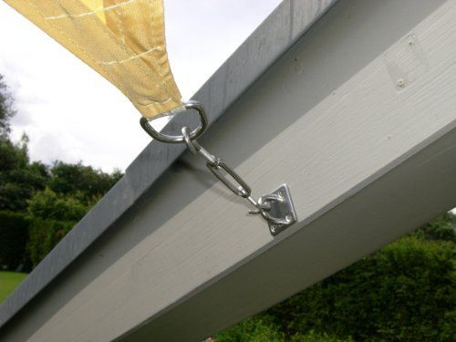 jarolift toldo vela rectangular repelente al agua 300 x 200 cm beige ms - Toldo Vela Rectangular