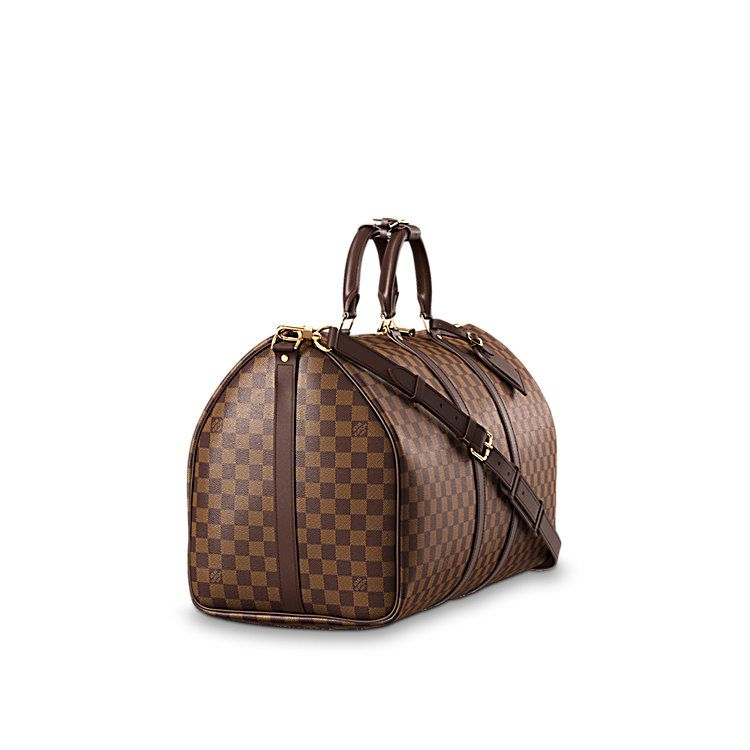 2d3d92108 Keepall Bandoulière 55 Damier Ebene in WOMEN's TRAVEL collections by Louis  Vuitton