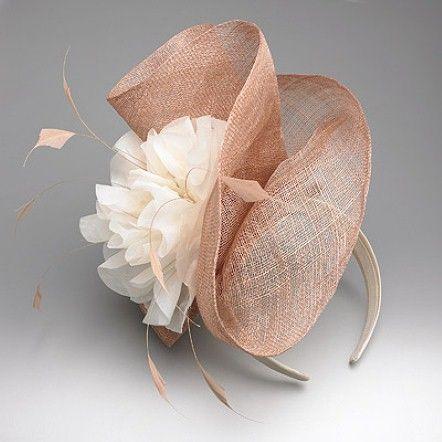 Fascigirl Sinamay Fascinator Pillbox Hat Hair Hoop Tea Party Derby Cocktail Hat