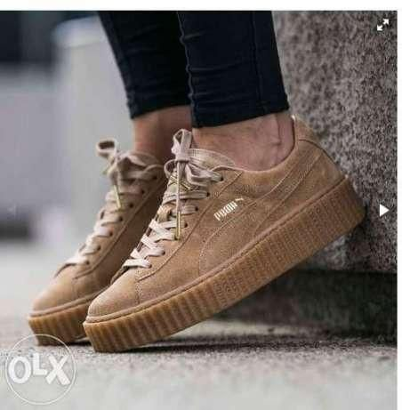 basket puma creeper beige