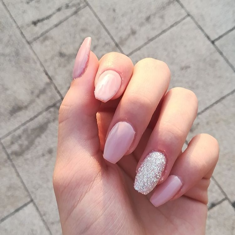 48 Natural Acrylic Nail Designs For Summer 2019 Koees Blog Cute Nail Art Designs Popular Nail Colors Natural Acrylic Nails