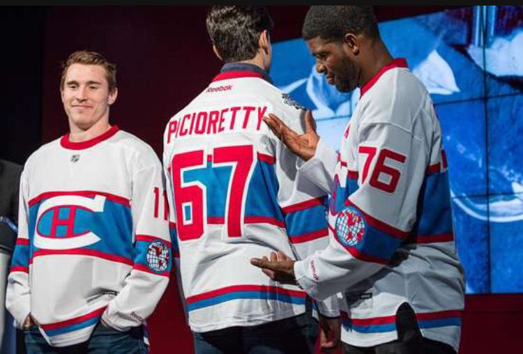superior quality 7dfdd 425ee Brendan Gallagher,Max Pacioretty and P.K Subban show off the ...