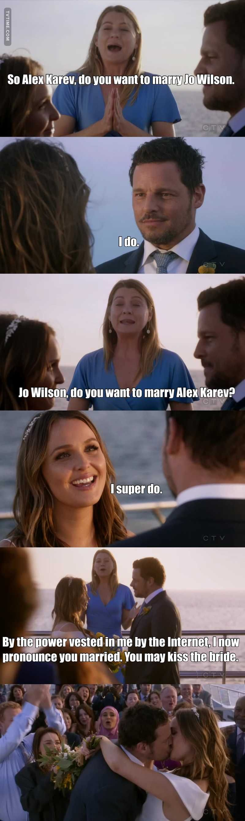 does alex karev marry jo