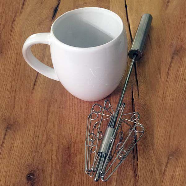 Barrel Shaped Coffee Mug, by Laird Superfood