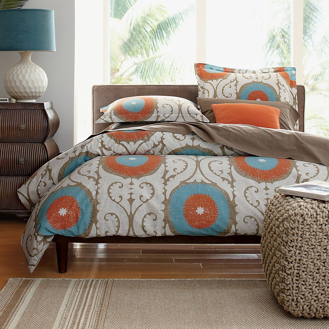 Odyssey Percale Comforter Cover/Duvet Cover and Sham The