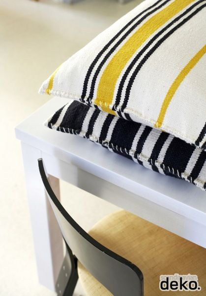 DIY: Cushions made of carpets