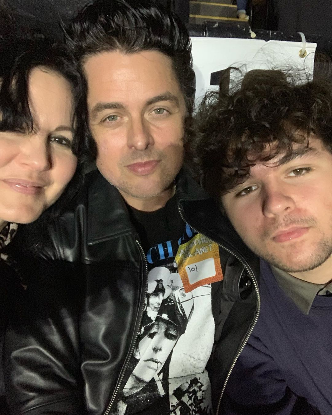 Billie Joe Armstrong On Instagram Night Out With These Loves