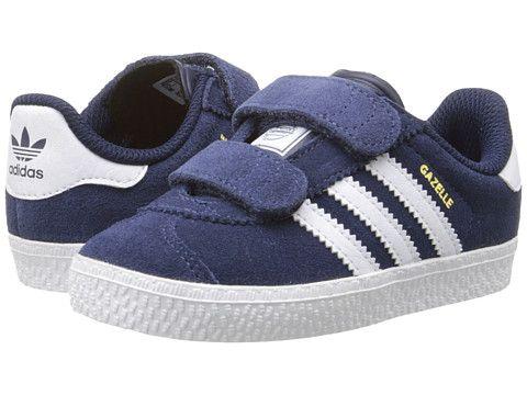 adidas Originals Kids Gazelle 2 CF (Toddler) | Boys shoes, Shoe ...