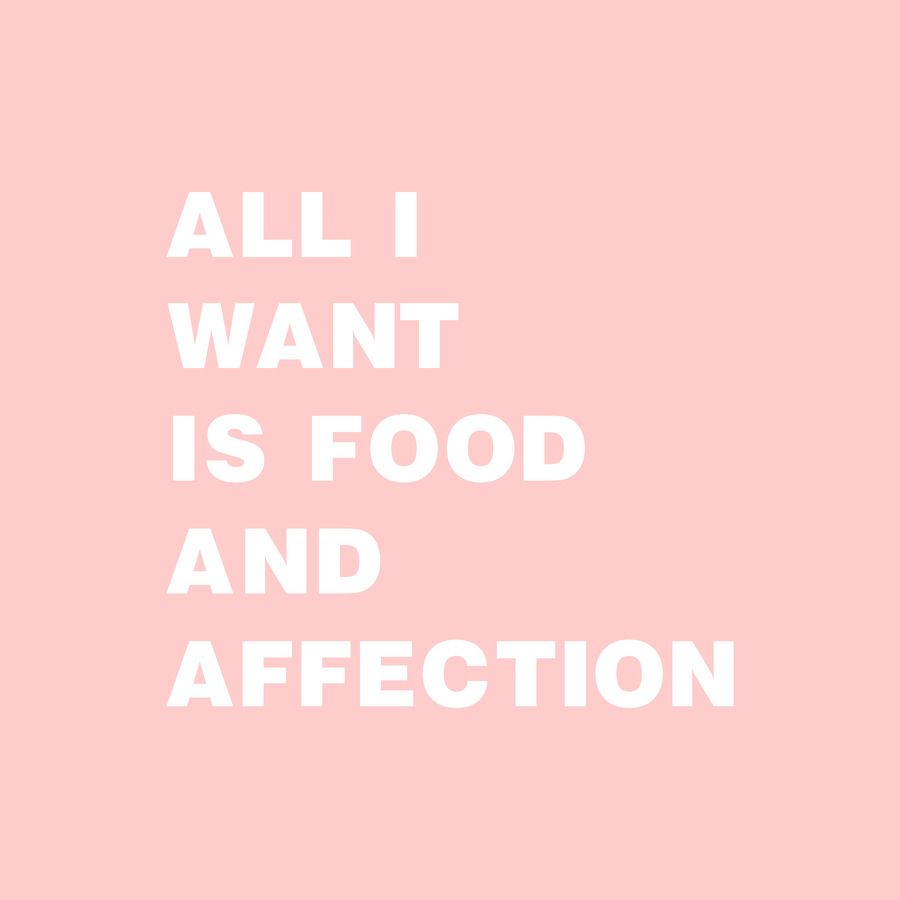 All I Want Is Food And Affection Food Quotes Funny Food Captions Inspirational Quotes Background
