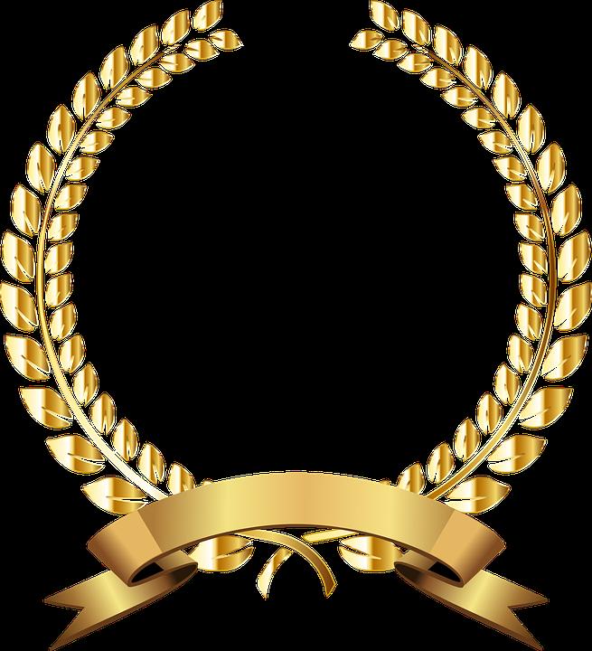 Freetoedit Golden Gold Emas Logo Piala Remixit Bingkai Gambar Emas