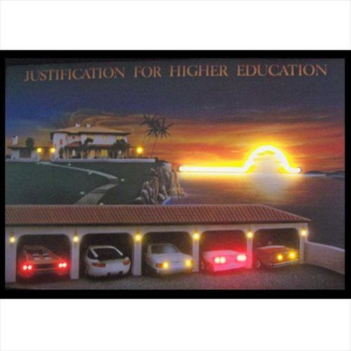 Higher Education Lighted NEON-LED Picture